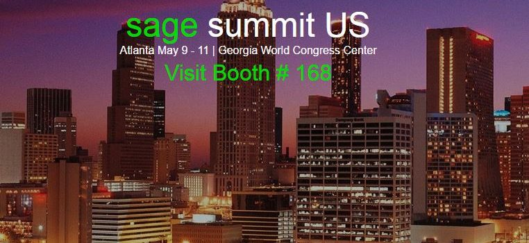 Sage Summit Atlanta – Booth 168